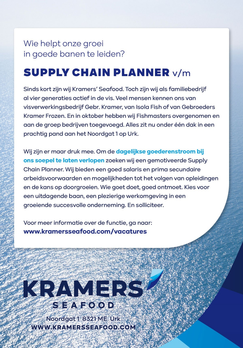 vacature-supply-chain-planner